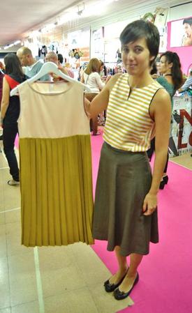 Finalmente un abito fatto a mano! Ecco la sua autrice: Le Veroni. Foto BeaBurgos