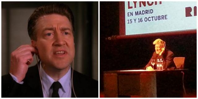 'I can't hear you' Gordon Cole, 1990 VS Reina Sofia, 2013 (Credits: Youtube - Instagram)