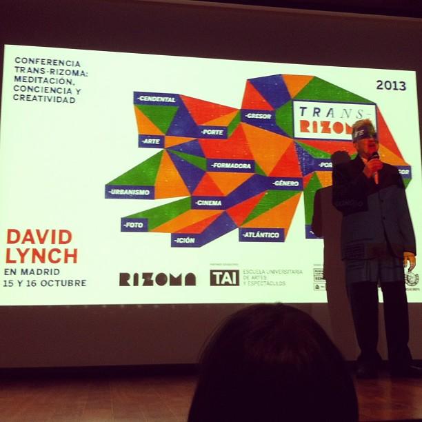 David Lynch al Reina Sofia di Madrid: io c'ero eh (ed in seconda fila)
