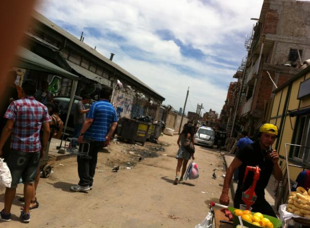 Barrio Retiro, ovvero: lasciate ogni speranza voi che entrate
