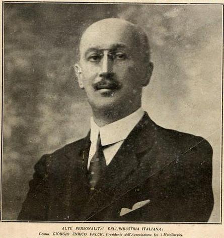 Il fondatore Giorgio Enrico Falck